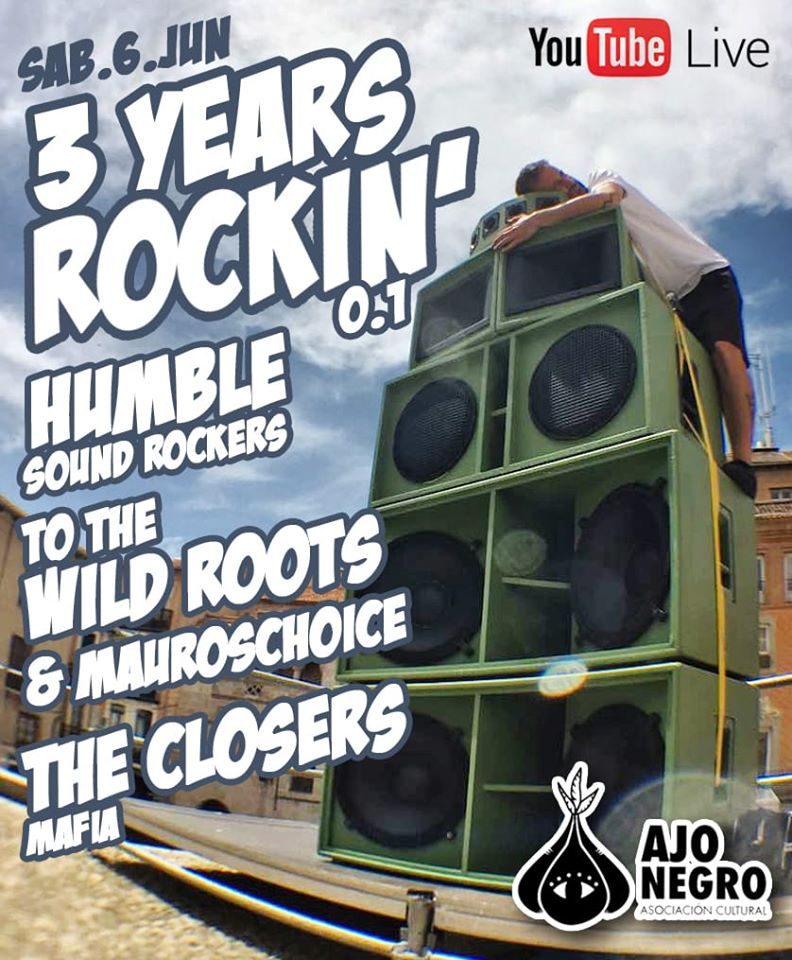cartel sounsystem 3 years rokin'